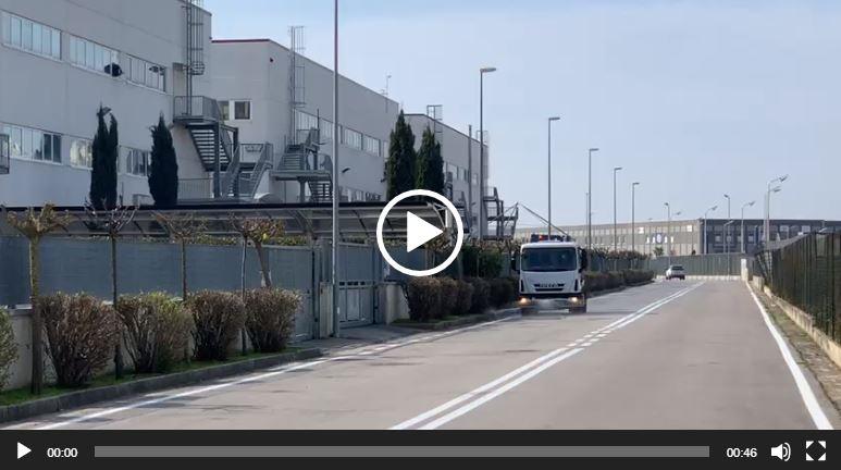 Disinfezione Zona Industriale Gricignano di Aversa