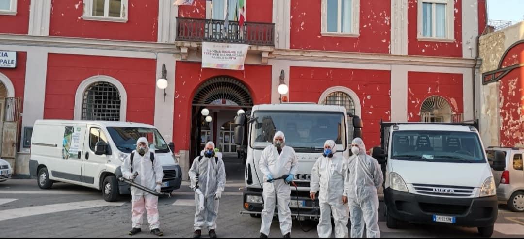 Sanificazione e Disinfezione Portico di Caserta