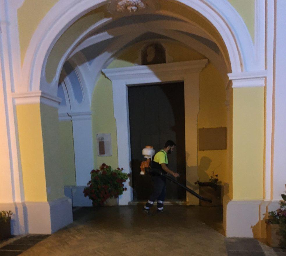 Sanificazione San Vincenzo Iaconti – Vietri Sul Mare
